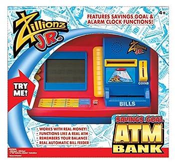 Zillionz Jr Deluxe Atm Savings Bank 885662503546