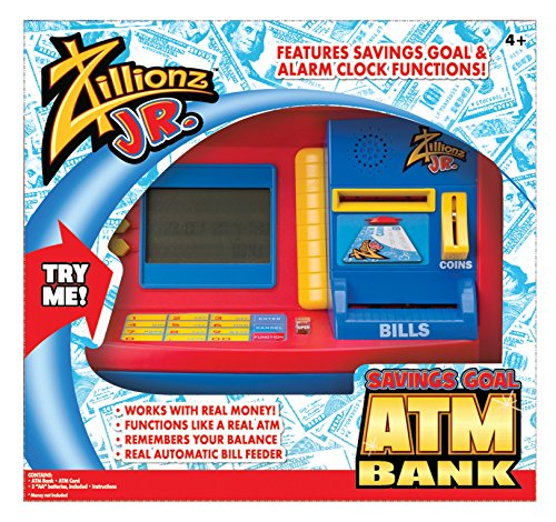Zillionz Jr. Deluxe ATM Savings Bank