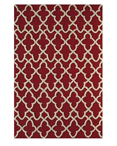 Rugs America Lenai Indoor/Outdoor Flame Rug