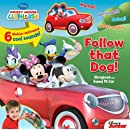 Disney Mickey Mouse Clubhouse Follow That Dog! Storybook and Sound FX Car (Sounds FX Toy)