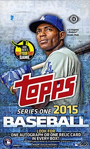 2015 Topps Series 1 Baseball Hobby Box image