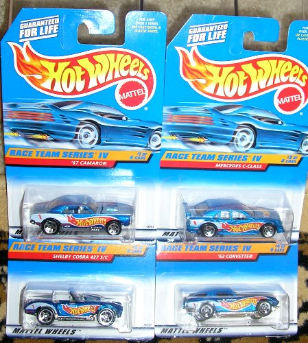 Hot Wheels Race Team Series 4 IV - 1