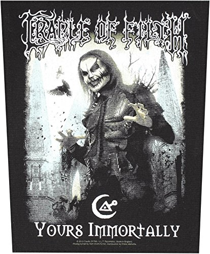 CRADLE OF FILTH YOURS IMMORTALLY Backpatch Sew-On Patch by Cradle of Filth