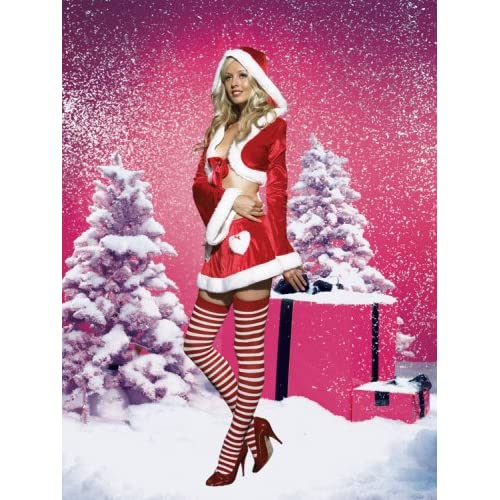 Sexy Costumes: Hot Babes in Sexy Cutie Claus Christmas Costume