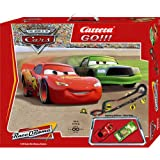 "Carrera Go ""Disney ""Cars"" Slot Race Car Set 1:43 Scale"