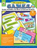 img - for Basic Language Arts G.A.M.E.S., Grade 3: Games, Activities, and More to Educate Students book / textbook / text book