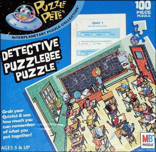 Puzzle Pete Detective Puzzlebee Puzzle, 100 pc. - 1