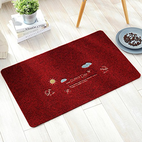 Entrance mat/Bedroom kitchen mats in the Hall/Bathroom water-absorbing mat-N 60x90cm(24x35inch)