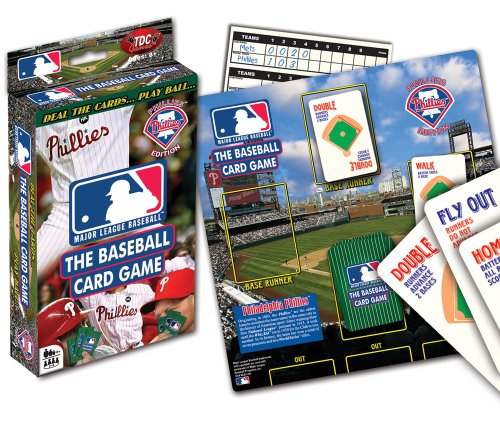 Philadelphia Phillies Card Game at Amazon.com