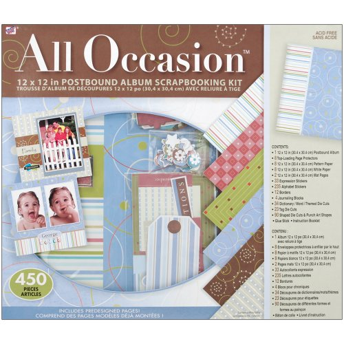 "All Occasion Boxed Album Kit 12""X12"""
