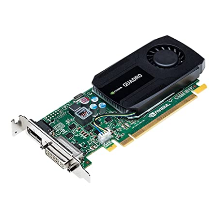 PNY NVIDIA VCQK420-PB QUADRO K420 Carte Graphique Pro 1 Go GDDR3 PCI-Express Low Profile DP et DVI/VGA