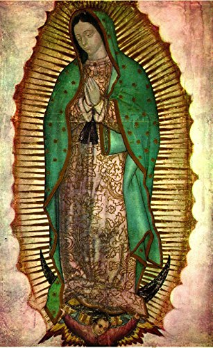 Our Lady of Guadalupe POSTER PRINT 12x16 Religious wall art Catholic pictures images Blessed Mother Mary
