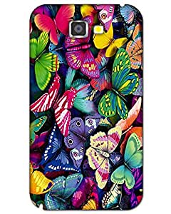 MobileGabbar Samsung Galaxy Note 2 Back Cover Printed Designer Hard Case