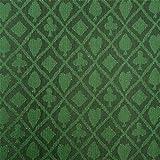Stalwart 3 Yards of Suited Waterproof Poker Table Cloth, Emerald Green