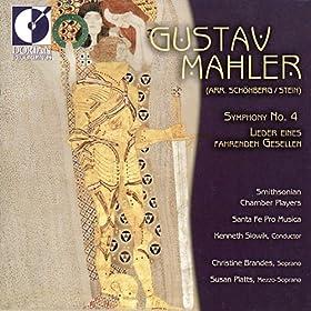 Mahler, G.: Symphony No. 4 / Lieder Eines Fahrenden Gesellen