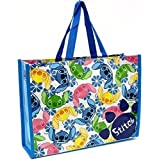 "Disney Stitch Set Of Two Reusable Lesson Mini Bag For Kids H 9.5"" X L 13""X W 4"""