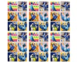 RIO 2 Stickers - Rio 2 Birthday Party Favor Sticker Set Consisting of 45 Stickers Featuring 6 Different Designs Measuring 2.5