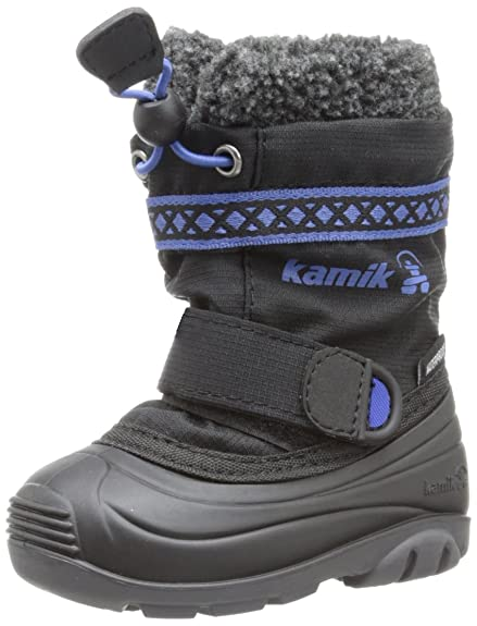 Boys' New Design Kamik Footwear Hatrick Insulated Boot Clearance Sale More Collections