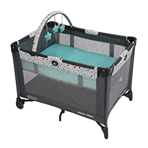 Graco Pack N Play Playard with Bassinet, Pasadena