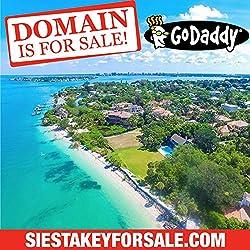 SIESTA KEY FOR SALE .COM - Real Estate - Florida Beach - Domain Name - GoDaddy