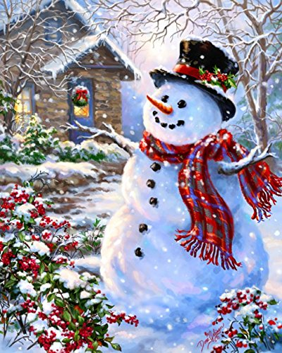 MasterPieces Puzzle Company Holiday Glitter Let it Snow Jigsaw Puzzle (500-Piece), Art by Dona Gelsinger