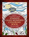 Adult Coloring Book Stained Glass Won…