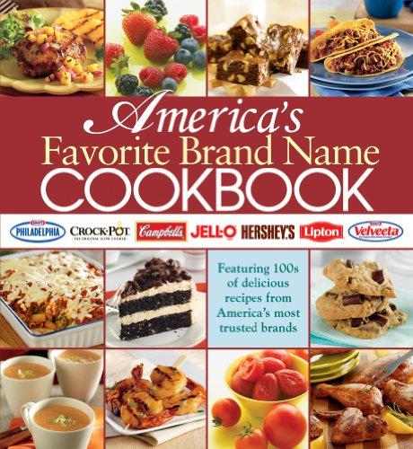 America's Favorite Brand Name Cookbook (Five Ring Binder)