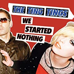 Ting Tings CD Cover