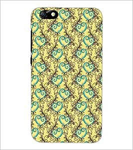 PrintDhaba Pattern D-5328 Back Case Cover for HUAWEI HONOR 4X (Multi-Coloured)