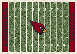 "Arizona Cardinals 3' 10"" x 5' 4"" NFL Home Field Area Rug"