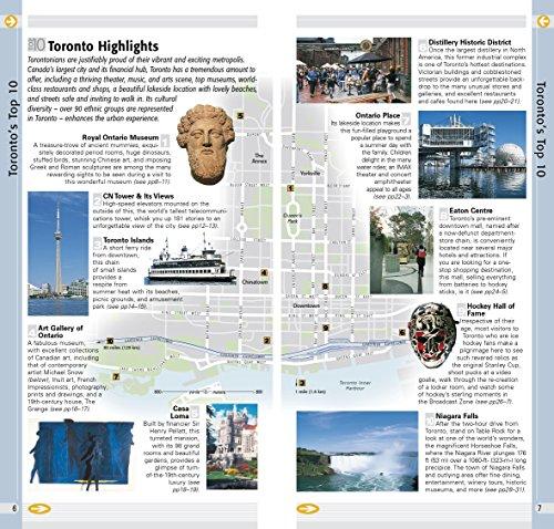 Top 10 Toronto (EYEWITNESS TOP 10 TRAVEL GUIDE)