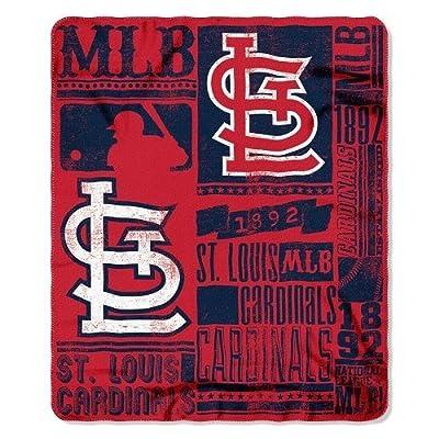 St. Louis Cardinals Fleece Blanket (50