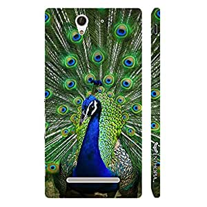 Sony Xperia C3 Dancing in the Rain designer mobile hard shell case by Enthopia