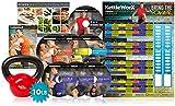 KettleWorX 2015 Rapid Evolution with 10 lb Kettlebell New 8 Week DVD Program