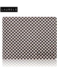 Laurels Checker Beige Color Men's Wallet (LW-CHK-0102)