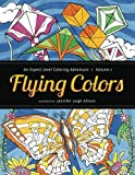 img - for Flying Colors: An Expert Level Coloring Adventure book / textbook / text book