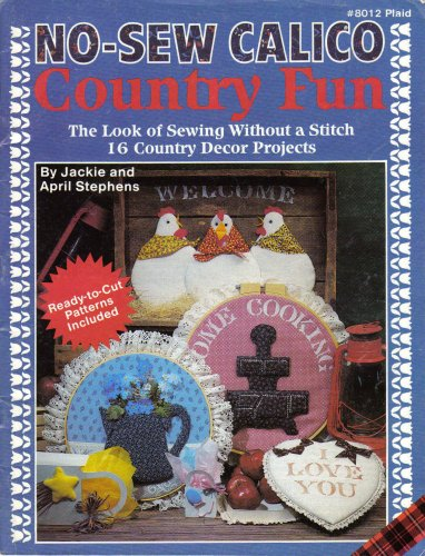 No-sew Calico Country Fun (#8012 Plaid) (No Sew Projects compare prices)