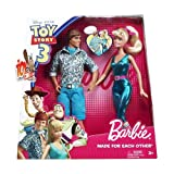 Disney-Barbie Toy Story 3 Barbie And Ken Doll Made For Each Other Gift Set