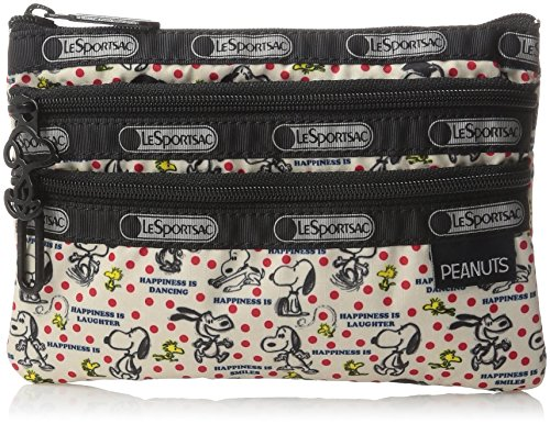 lesportsac-x-peanuts-3-zip-cosmetic-case-happiness-dots