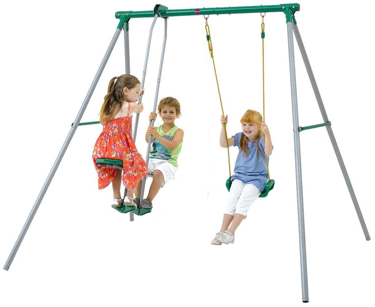 Kids Garden Outdoor Playset Swing Childrens Play Swing Set ...
