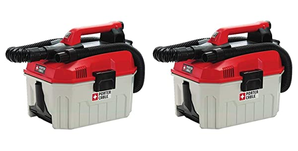 PORTER-CABLE PCC795B 20V MAX Wet/Dry Vacuum (Tool Only), 2 Gallon (Pack of 2) (Tamaño: Pack of 2)