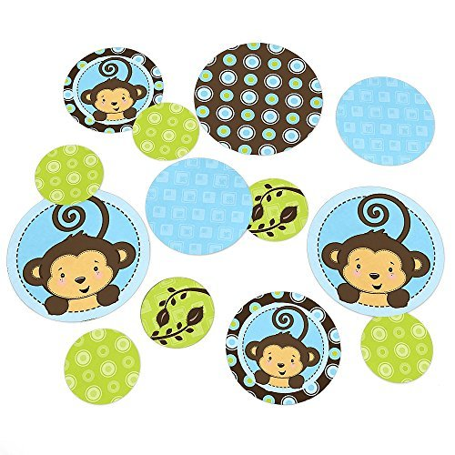 Monkey Boy - Party Table Confetti - 27 Count