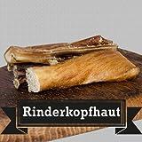 Rinderkopfhaut - Kopfhaut vom Rind - 1000g - Deutsche Qualität - von George and Bobs - Versandkostenfrei ab 30€
