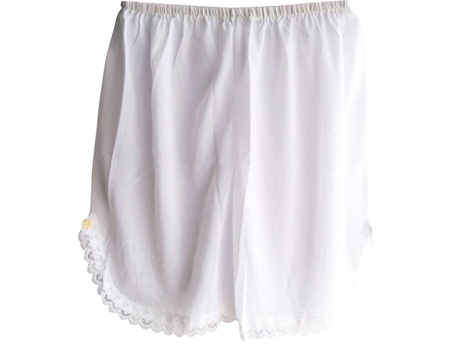 Damen Nylon Halb Slips Neu UPPNNWH White Half Slips Women Pettipants Lace