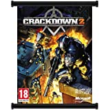 Crackdown 2 Game Fabric Wall Scroll Poster (32x40) Inches