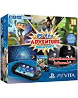 Console Playstation Vita 2000 + Voucher Adventure Games Mega Pack + Carte Mémoire 8 Go pour PS Vita
