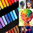 36 Color DIY Hair Chalk Temporary Hair Color Pastel Hair Dye Set Non-toxic