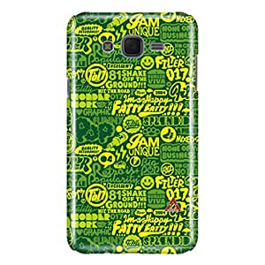 a AND b Designer Printed Mobile Back Cover / Back Case For Samsung Galaxy J7 (SG_J7_3D_3483)