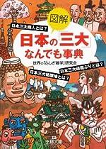 図解 日本の「三大」なんでも事典 (王様文庫)