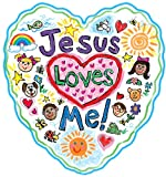 img - for Jesus Loves Me Two-Sided Decoration: Kid-Drawn book / textbook / text book